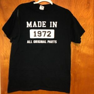 Made in 1972 all original parts T-shirt black M